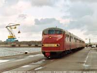 HIJSM Plan U 113  |  Amsterdam Westhaven, kadespoor firma Cornelder  |  28 december 2004   [174 kB]